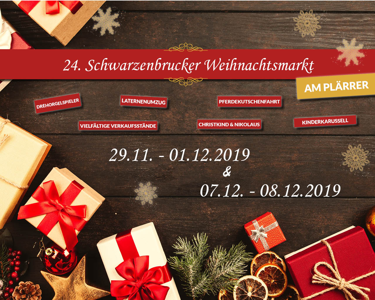 24. Schwarzenbrucker Weihnachtsmarkt