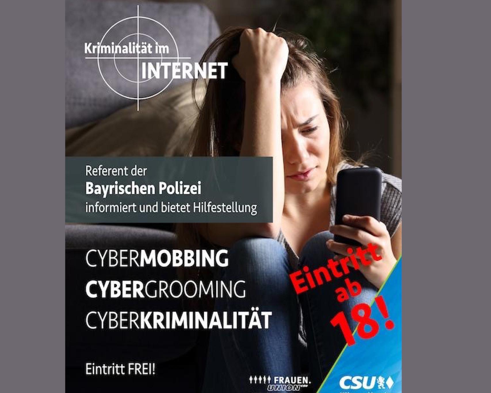 Infoveranstaltung Cyberkriminalität