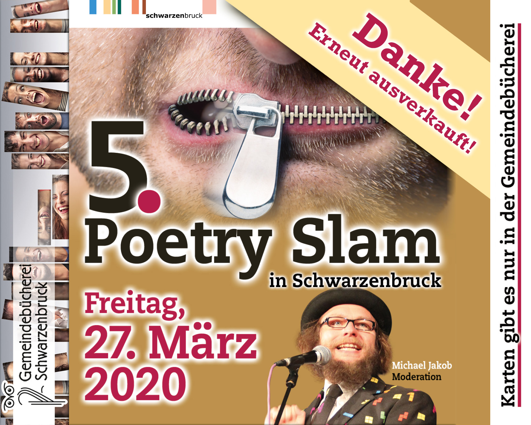 5. Poetry Slam ist ausverkauft
